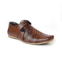 ADEL BROWN Colour Leather Casual Shoes 6UK For Men