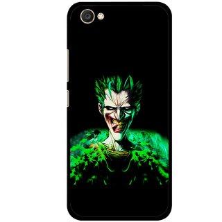 Snooky Printed Daring Joker Mobile Back Cover For Vivo V5 - Multi