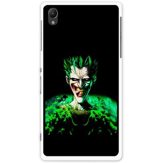 Snooky Printed Daring Joker Mobile Back Cover For Sony Xperia Z1 - Multi