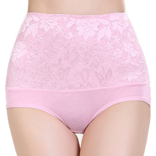 Secret World Presents Light Pink High Waist Hipster