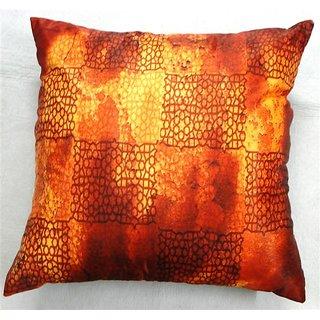 Welhouse India Geometric 3D  Digital Cushion Covers - Pack of 1DGC-18-022