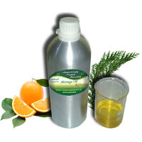 ecoplanet Aromatherapy Massage Oil Refreshing 1 Litre, Instant Freshness, Improves Skin