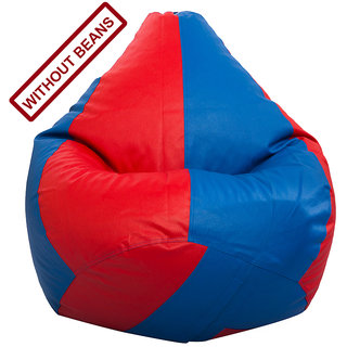 StyleCo Large Size ( L Size ) Modern CLassic Bean Bag- (Cover- Without Beans) - Red