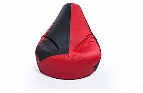 Home Berry L Classic bean bag cover without beans-Red