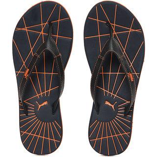 Puma Men Blue  orange Webster Flip Flops