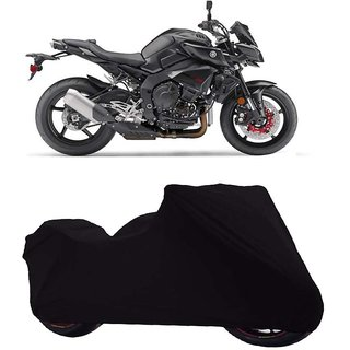 Vsquare Premium Quality Yamaha FZ Two Wheeler Cover Black