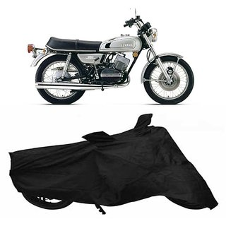 Vsquare Premium Quality Yamaha RD 350 Two Wheeler Cover Black
