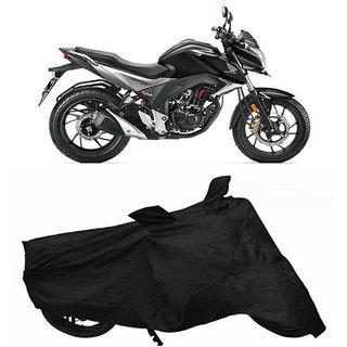 Vsquare Premium Quality Honda HORNET Two Wheeler Cover Black