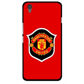 Snooky Printed United Mobile Back Cover For One Plus X - Multi
