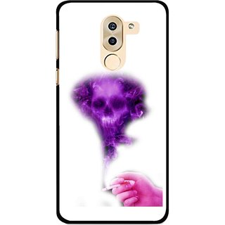 Snooky Printed Danger Mobile Back Cover For Huawei Honor 6X - Multi