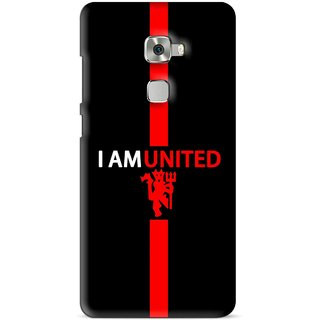 Snooky Printed United Mobile Back Cover For Huawei Mate S - Multi