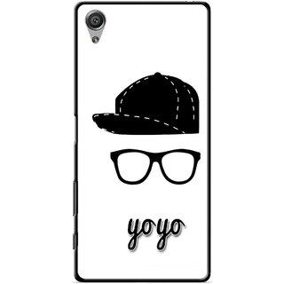 Snooky Printed Yo Yo Mobile Back Cover For Sony Xperia X - Multicolour