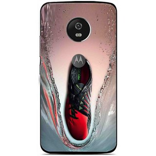 Snooky Printed Water Mobile Back Cover For Moto G5 Plus - Multi