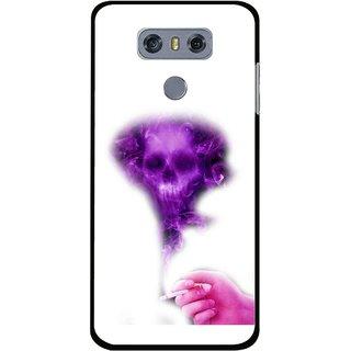 Snooky Printed Danger Mobile Back Cover For LG G6 - Multi