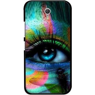 Snooky Printed Designer Eye Mobile Back Cover For Lenovo Zuk Z1 - Multicolour