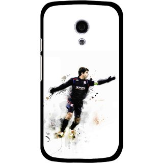 Snooky Printed Pass Me Mobile Back Cover For Moto G2 - Multi