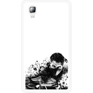 Snooky Printed Commando Mobile Back Cover For Micromax Canvas Doodle 3 A102 - Multicolour