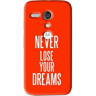 Snooky Printed Never Loose Mobile Back Cover For Moto G - Multi