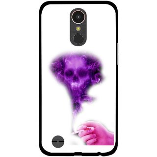 Snooky Printed Danger Mobile Back Cover For LG K10 2017 - Multi