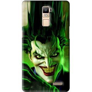 Snooky Printed Horror Wilian Mobile Back Cover For Oppo R7 Plus - Multi