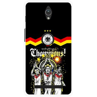 Snooky Printed Champions Mobile Back Cover For Asus Zenfone C - Multicolour