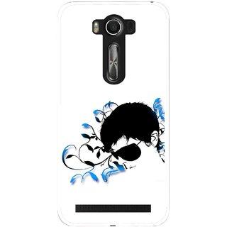 Snooky Printed Stylo Man Mobile Back Cover For Asus Zenfone 2 Laser ZE500KL - Multi
