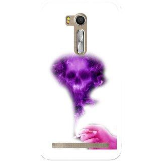 Snooky Printed Danger Mobile Back Cover For Asus Zenfone Go ZB551KL - Multi