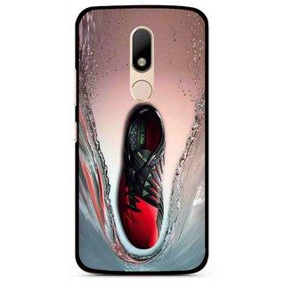 Snooky Printed Water Mobile Back Cover For Motorola Moto M - Multi
