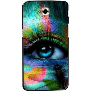 Snooky Printed Designer Eye Mobile Back Cover For Lg G Pro Lite - Multicolour