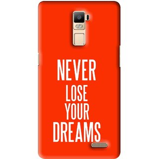 Snooky Printed Never Loose Mobile Back Cover For Oppo R7 Plus - Multi