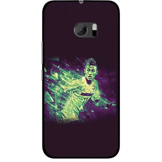 Snooky Printed Running Boy Mobile Back Cover For HTC One M10 - Multicolour