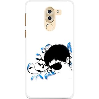 Snooky Printed Stylo Man Mobile Back Cover For Huawei Honor 6X - Multi
