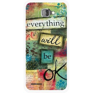 Snooky Printed Will Ok Mobile Back Cover For Micromax Canvas Mad A94 - Multicolour