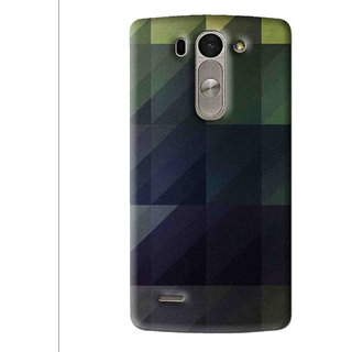 Snooky Printed Geomatric Shades Mobile Back Cover For Lg G3 Beat D722k - Multi