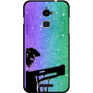 Snooky Printed Sparkling Boy Mobile Back Cover For Coolpad Note 3 Lite - Multi