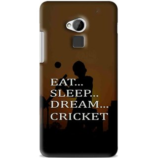 Snooky Printed All Is Cricket Mobile Back Cover For HTC One Max - Multi