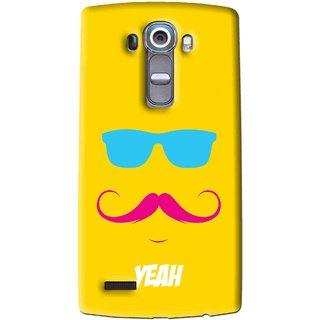 Snooky Printed Yeah Mobile Back Cover For Lg G4 - Multi