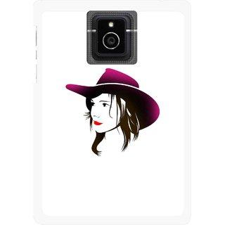 Snooky Printed Tom Boy Mobile Back Cover For Blackberry Passport - Multicolour