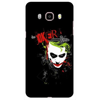 Snooky Printed The Joker Mobile Back Cover For Samsung Galaxy J5 (2016) - Multicolour