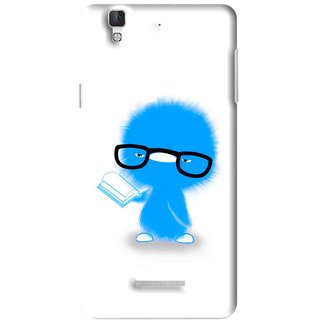 Snooky Printed My Teacher Mobile Back Cover For Micromax YU YUREKA - Multi