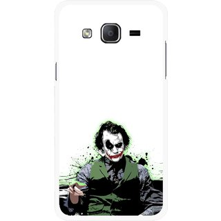Snooky Printed Joker Mobile Back Cover For Samsung Galaxy On5 - Multicolour