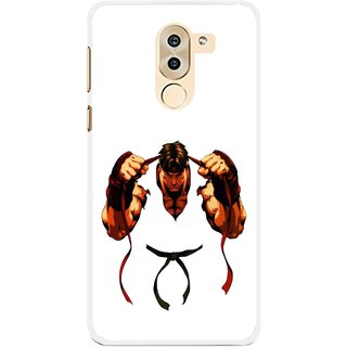 Snooky Printed Karate Boy Mobile Back Cover For Huawei Honor 6X - Multi