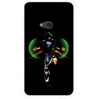 Snooky Printed Hero Mobile Back Cover For Nokia Lumia 625 - Multicolour
