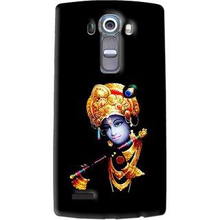 Snooky Printed God Krishna Mobile Back Cover For Lg G4 - Multi