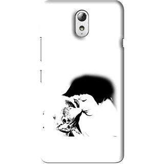 Snooky Printed Pet Lover Mobile Back Cover For Lenovo Vibe P1M - Multi