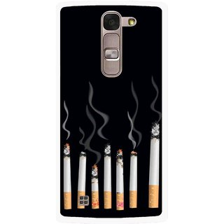 Snooky Printed Smoking Mobile Back Cover For Lg Magna - Multi