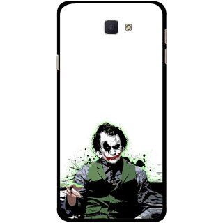 Snooky Printed Joker Mobile Back Cover For Samsung Galaxy J7 Prime - Multicolour