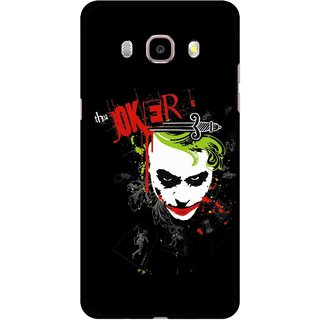 Snooky Printed The Joker Mobile Back Cover For Samsung Galaxy J7 (2016) - Multicolour