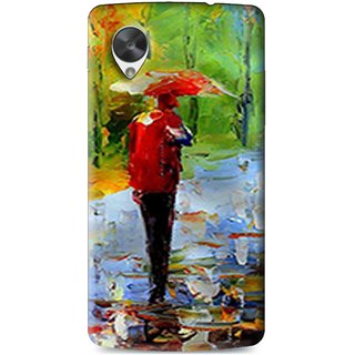 Snooky Printed Painting Mobile Back Cover For Lg Google Nexus 5 - Multi
