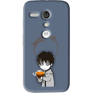 Snooky Printed Need Rest Mobile Back Cover For Moto G - Multi